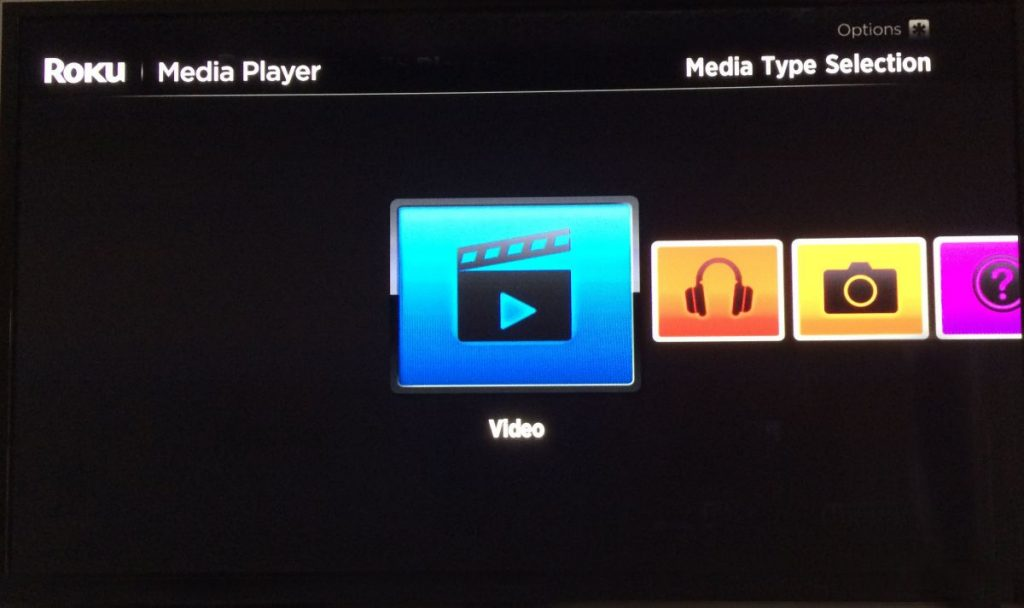 Roku Video Selection