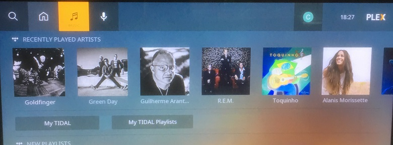 Tidal on Roku TV