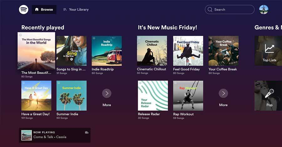 Spotify On Roku