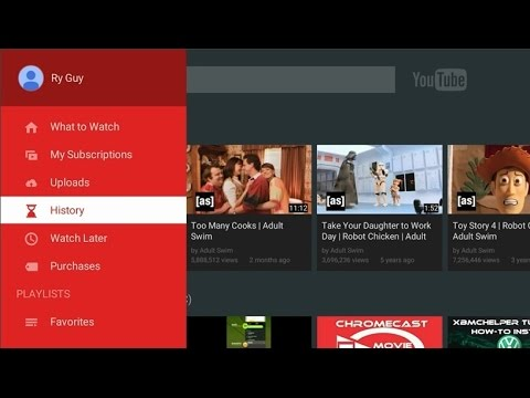YouTube on link activation Roku