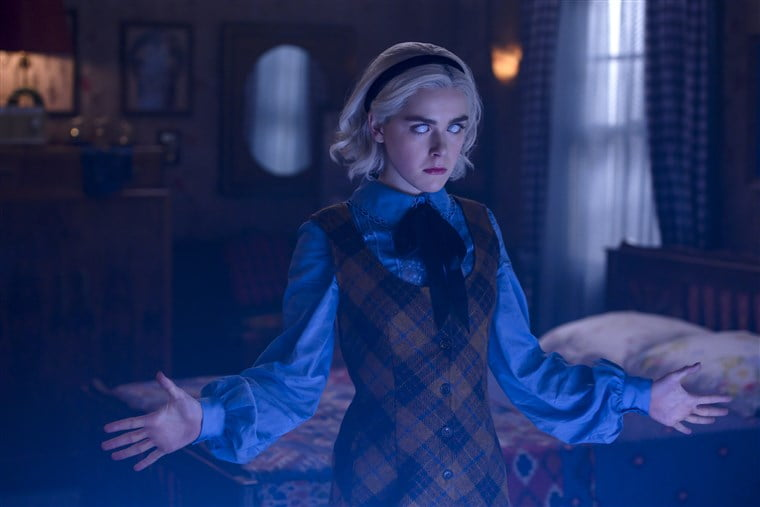 Roku com link to watch Chilling Adventures of Sabrina-Netflix on Roku