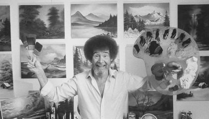 Bob Ross on YouTube on link activation Roku