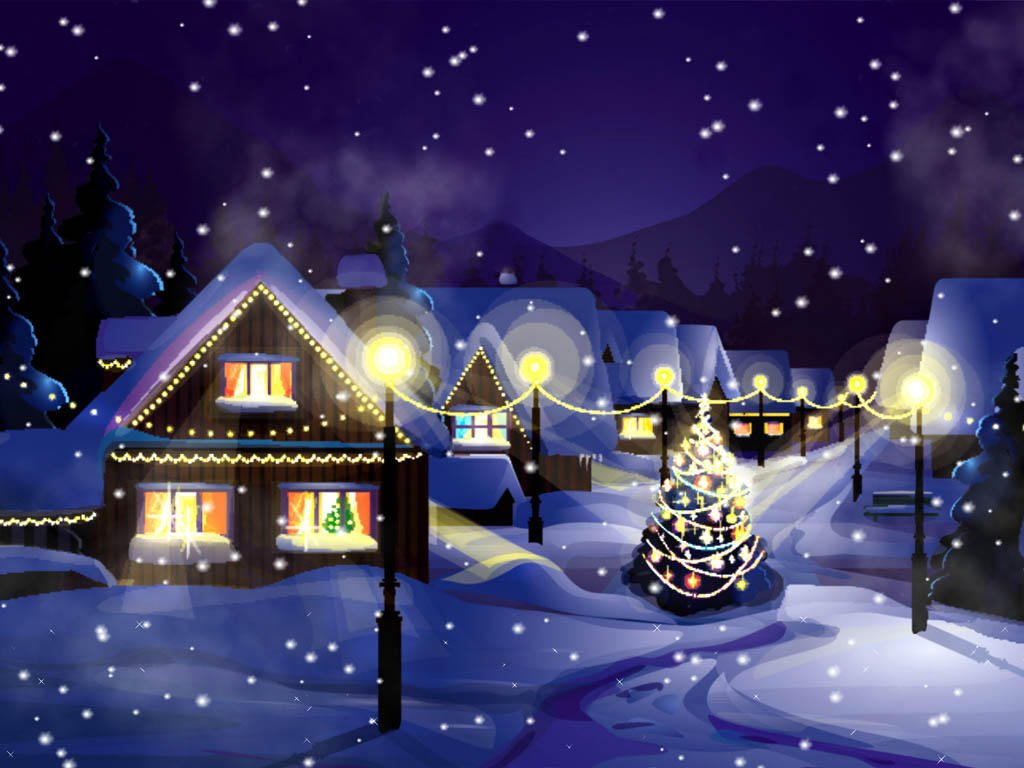 Turn your TV screens into Christmas wonderland on Roku com link