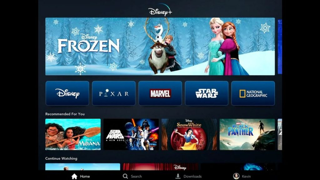 Launch of Disney Plus on Link activation Roku
