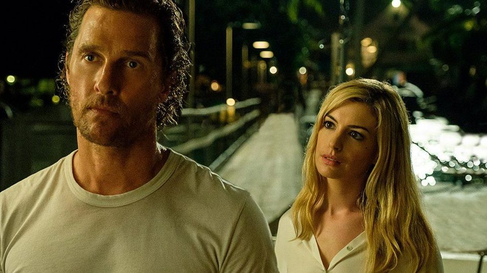 McConaughey and Hathaway in Serenity