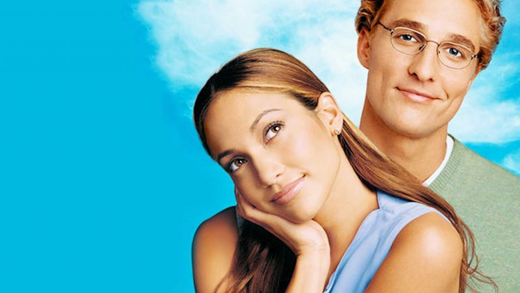 McConaughey and J-Lo in The Wedding Planner