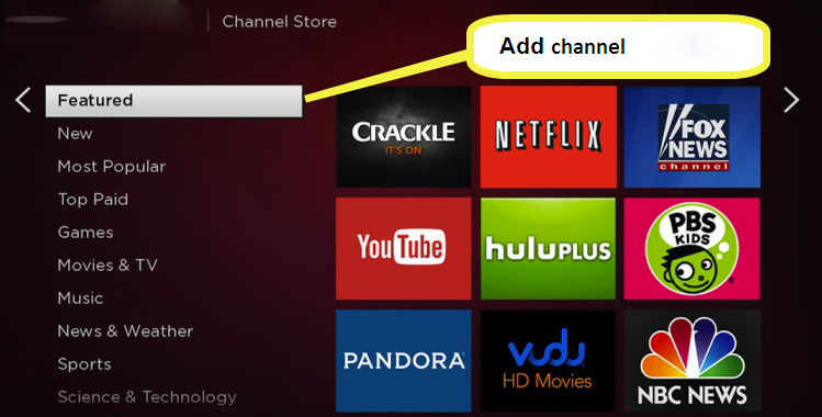 add roku channels Link Activation roku 4 1 - Technical Support for Roku Link Code Activation
