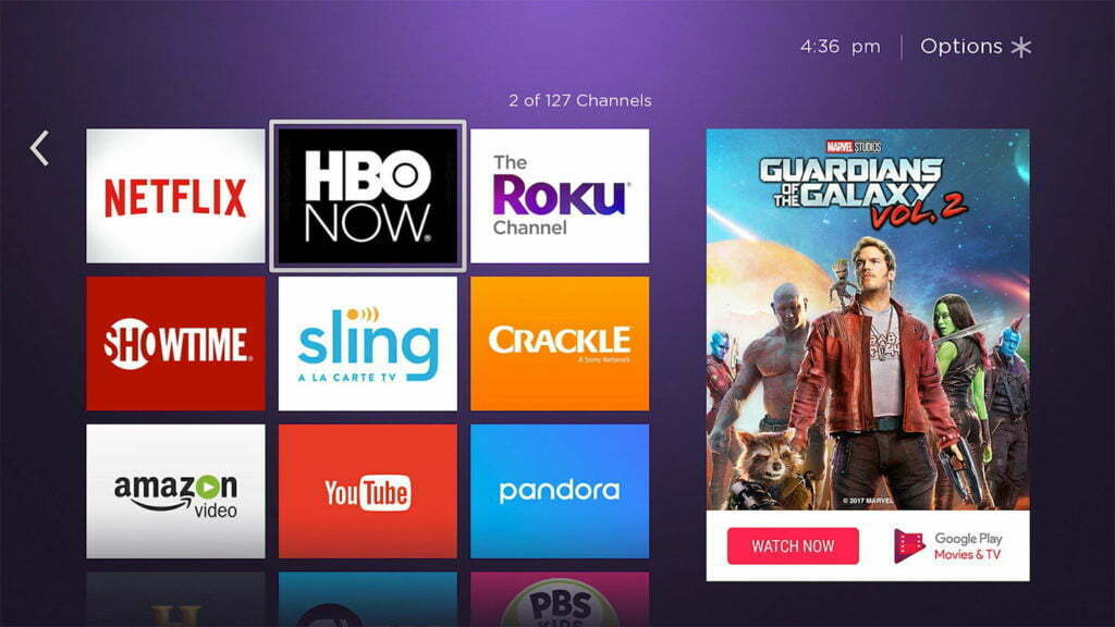 roku apps screenshot link activation roku 1024x576 1 - Link Activation Roku to Five Free Premium Music Channels on Roku TV