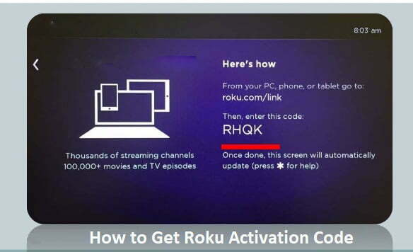 roku enter activation code - Link activation Roku to Learn How To Activate Roku TV